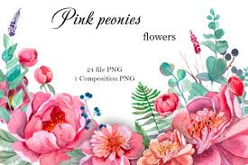 These can be used in website landing page, mobile app, graphic design projects, brochures, posters etc. 1 Peony Logo Designs Graphics