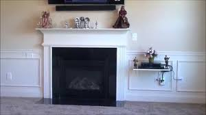 How To Cover Wires How To Install Your Flat Screen Tv Without Wires Showing Youtube