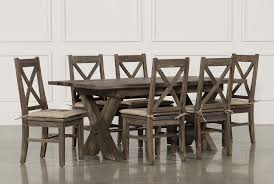 Mallard 7 Piece Extension Dining Set Living Spaces