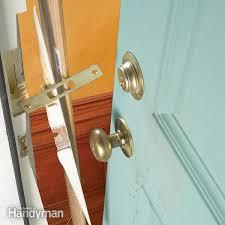 how to reinforce doors entry door and