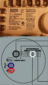electrical need help with correct wiring when replacing a 2 Wire Smoke Detector Wiring Diagram new smoke detector wiring simplex 2 wire smoke detector wiring diagram