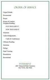 Free Funeral Program Template. Check Out Our Sample Funeral Program ...