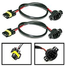 amazon com ijdmtoy 2 5202 h16 wire harness for installing hid ijdmtoy 2 5202 h16 wire harness for installing hid ballast to stock socket for