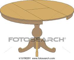 round table clipart. Simple Table Clipart  Wooden Round Table Isolated On Whit Fotosearch Search Clip Art  Illustration To Round Table T