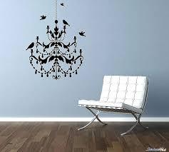 black chandelier wall decal luxury decals for walls vinyl sticker column hi inspirational chan