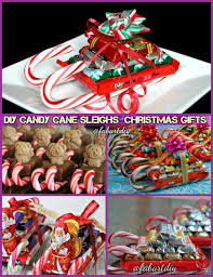 DIY Candy Cane Sleighs Express Christmas Gifts Pack