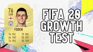Phil Foden Dynamic Potential Test!! FIFA 20 - YouTube