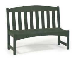 seas garden bench armless 3 ft