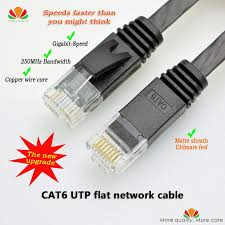 best ideas about twisted pair snickers dip 50pcs lot 6ft 2m cat6 ethernet cable flat utp cat6 network cable gigabit ethernet patch
