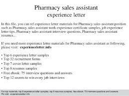 Pharmacist Assistant Job Description Resume Tutorial