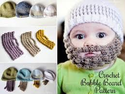 Beard Hat Crochet Pattern Enchanting Bobble Beard Crochet Hat Pattern Easy Video Instructions