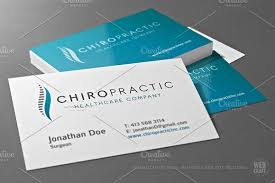 Chiropractic Logo Template Templates Creative Market Exotic