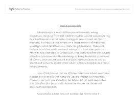 visual rhetorical analysis essay example images visual  definition essay score for visual rhetorical analysis essay example