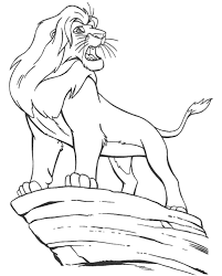Small Picture The Lion King Halloween Coloring Pages Disney Cartoon Disney