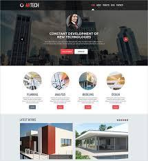 Construction Website Templates Mesmerizing 28 Construction Website Themes Templates Free Premium Templates