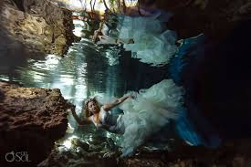 Riviera Maya Cenote Trash The Dress Susana And Jovany