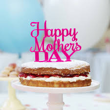 Personalised Mothers Day Cake Topper By Sophia Victoria Joy