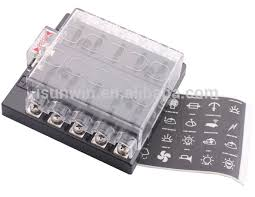 automotive fuse block terminals car audio systems fuse block