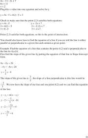 you should also know how to find the equation of a line if you are told
