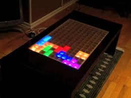 arduino led tetris table you