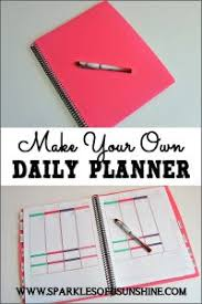 Making A Daily Planner Free Printable 2019 Calendar With Weekly Planner Sparkles