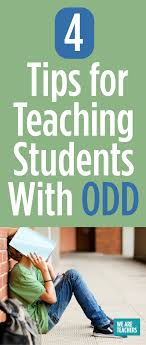 have you worked with a student who has odd what other tips would you add please share in the ments