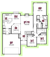 house plan 56402 traditional style