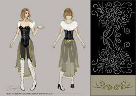 Bdo Costume Design Contest 2018 Artstation Black Desert Costume Design Contest Katerina Sessa