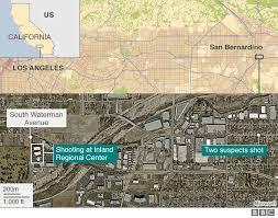 San Bernardino Shooting What We Know So Far Bbc News