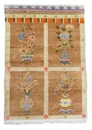 Carpet Design Gallery Vintage Tibetan Vase Carpet 180x1120cm