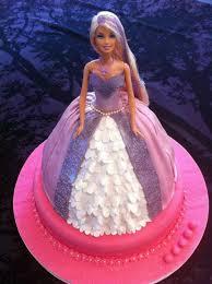 Birthday Cake Barbie Doll Cake Design