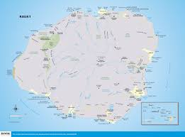 printable travel maps of kaua'i  moon travel guides