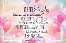 Spruch Ich Bin Single