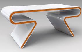 super modern furniture. Sleek Futuristic Table Furniture 35 Super Modern Office Desk Designs - Mag D