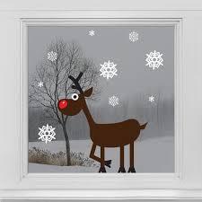 Adventsfenster Deko Weihnachten Fenster Fensterdeko