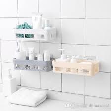 plastic wall mounted type bathroom shelves jpg