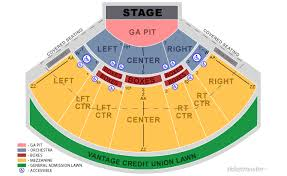 48 Explanatory Seating Chart For Verizon Wireless Amphitheater