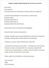 Complaint Format Sample Complaint Letter Format Howtheygotthereus 39