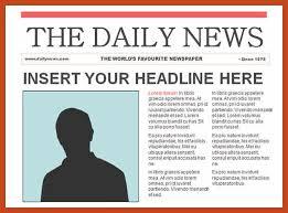 Newspaper Article Format Igcse Wildlifetrackingsouthwest Com