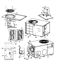 looking for coleman evcon model bpch0361ba central air conditioner coleman evcon bpch0361ba functional replacement parts diagram