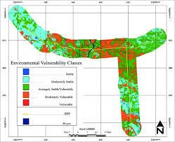 Vulnerability Chart Environmental Vulnerability Chart For The Estradas Parque