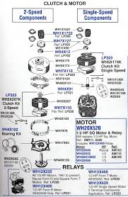 ge older style washers appliance aid one common problem area is the clutch assembly