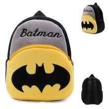 Детская школьная <b>сумка DC</b> с рисунком Бэтмена, плюшевый ...