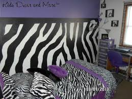 girl bedroom ideas zebra purple. Zebra Girl\u0027s Bedroom Decor With A Pattern Painted On The Walls. Love How Black And White Of Print Goes Purple. Girl Ideas Purple L