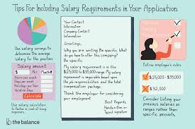 Salary History In Resumes When And How To Disclose Your Salary Requirements