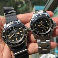 Image result for The Rolex Military Submariner 5513