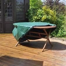 kingfisher medium oval waterproof patio