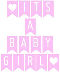 Free Printable Banner Its A Baby Girl Baby Shower