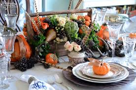 thanksgiving table centerpieces. {Thanksgiving DIY} How To Make Your Own Thanksgiving Centerpiece | Celebrating Everyday Life With Jennifer Carroll Table Centerpieces O