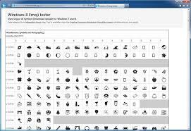Microsoft Backports Windows 8 Emoji For Segoe Ui Symbol To Windows 7